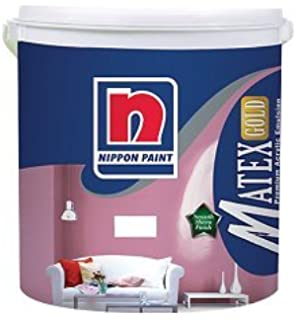 Nippon Satin Glo Plus Luxury Interior Wall Paint White Ltr - Paint plus
