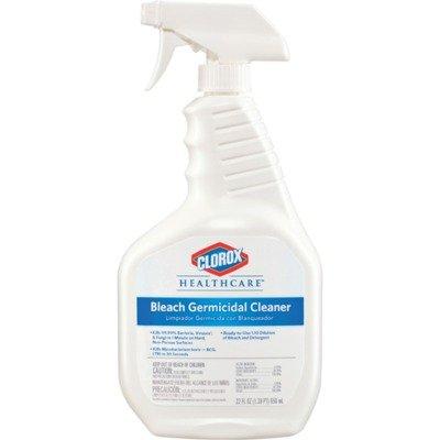 Clorox healthcare bleach germicidal cleaner 22 ounces - Clorox disinfecting bathroom cleaner spray ...