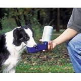 Dosckocil (Petmate) DDS24502 18-Ounce Plastic Porta LeBistro Dog Waterer, Medium, Planet Blue, My Pet Supplies