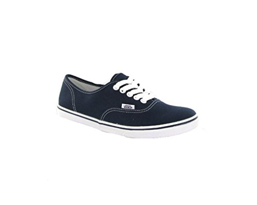 Vans Authentic Lo Pro Navy Canvas Womens Trainers Size 6.5 US