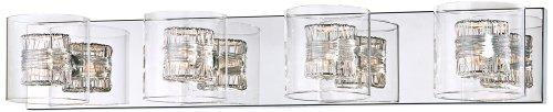 Possini Euro Design Wrapped Wire 30 3/4'' Wide Bathroom Light by Possini Euro Design