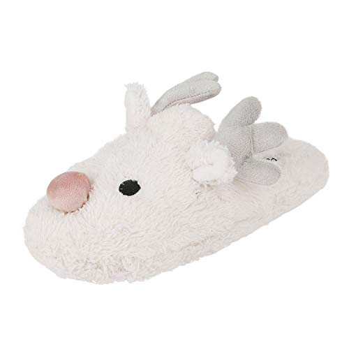 White Slippers Memory xmas Soft Anti Plush Gift Womens Bunny Cute Bedroom Rabbit House Winter Shoes slip Foam Indoor wCInTqHfx