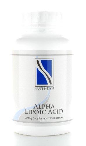 Alpha Lipoic Acid Antioxidant, 100 Caps by Nutri-Dyn