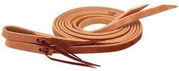 (Weaver?Single-Ply Heavy Harness Leather Split Reins 3/4 in x 8 ft by Weaver Leather)
