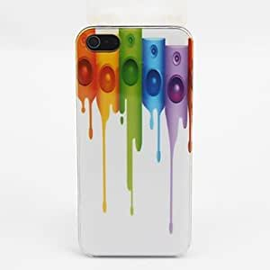 GOG Beautiful Color Pattern PC Back Case for iPhone 5