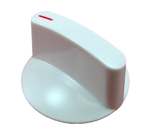 Non OEM Washer White Timer Knob WH1X2721SAP Replaces GE WH1X2721