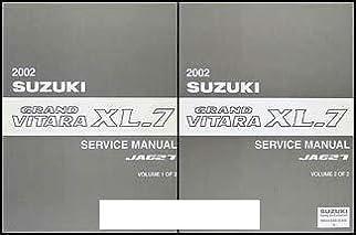 2002 suzuki grand vitara xl 7 service manual ja627 2 volume set rh amazon com 2002 suzuki xl7 repair manual free download 2002 suzuki xl7 repair manual pdf