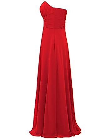 ANTS Womens Strapless Long Chiffon Bridesmaid Dresses for Weddings