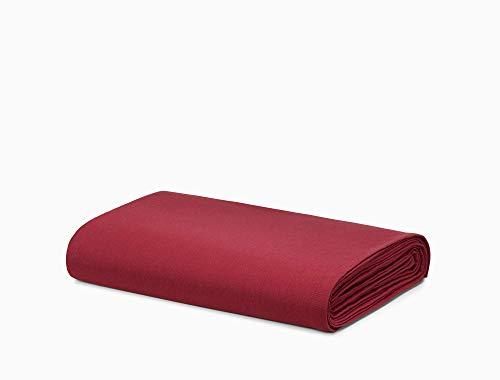 Calvin Klein Modern Cotton Harrison Sheet, Queen, Burgundy ()