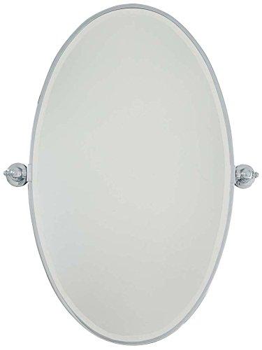 (Minka Lavery Minka 1432-77 Traditional Oval Mirror Collection in Chrome, Pol. Nckl.Finish Extra Bath, Upc-747396073910,)