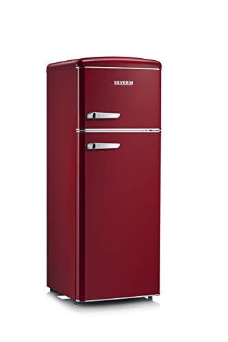 Severin RKG 8931 Nevera y congelador Independiente Burdeos Frigorífico (208 L, N-ST, 41 dB, 2,5 kg/24h, 208 litros
