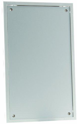Legrand LEG93007 Tableautin 250 x 150 x 35 mm IP20/IK08 RAL 9010 Blanc Protection coffret porte plaque de fond platine socle pre equipe