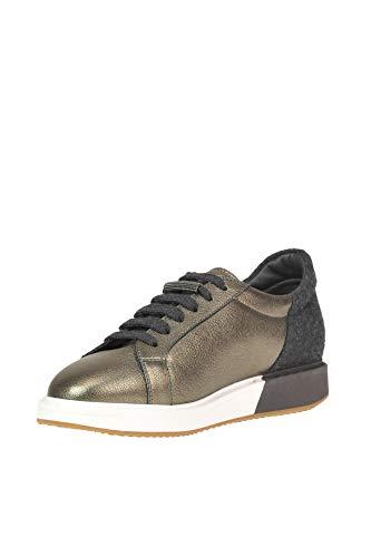 Bronze Cuir Brunello Cucinelli Baskets Mcglcak000005004e Femme rwtOIqt