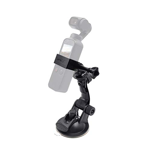 Vehicle Windshield Suction Cup Car Mount 1/4 Bracket Holder Osmo Pocket for FPV Drone Premium Portable Easy Install UAV Part Pro by SMOXX