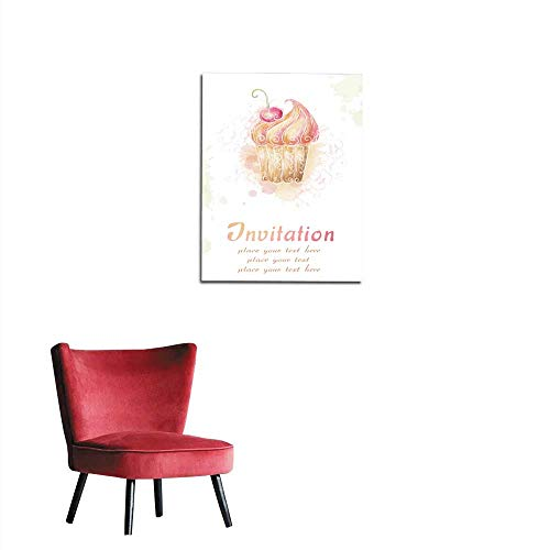 longbuyer Wall Picture Decoration Invitation Card Mural 32