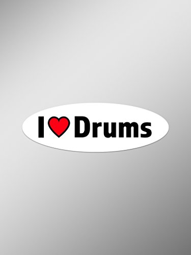 drums window decal - 4