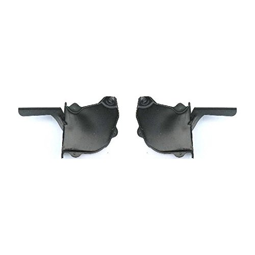 Pickup Hood Hinge - Hood Hinge Compatible with Toyota Pickup 88 Steel Set of 2 Left and Right Side