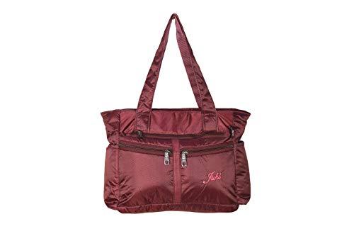 Juhi 2534 Waterproof Ladies Nylon Hand Bag + Messenger Bag
