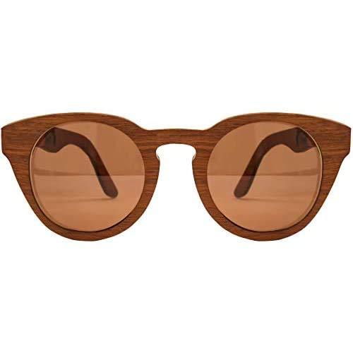 Óculos de sol de madeira Leaf Eco Bird Imbuia