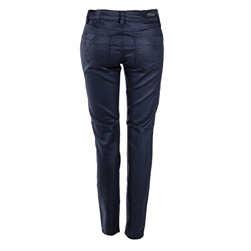Bleu Fonce Pantalon Femme Best Mountain Enduit zipp waq6x4XxBC
