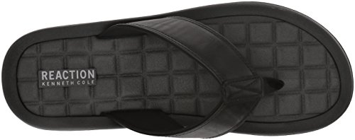 Kenneth Cole Reaktion Mens Fyra B Sandal Svart