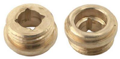 brass craft service parts scb1516 x 10 Pack, 1/2 -Inch x 20 Thread, Brass Seat by BrassCraft