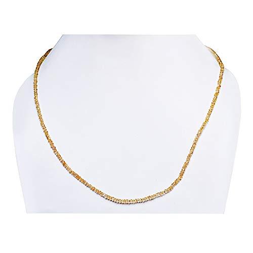 Ravishing Impressions Gorgeous 3 MM Natural Yellow Citrine Gemstone Strands Beads, Handmade, Roundel Beads, New Jewellery for Women, Gift Idea, Best Price FSJ-699