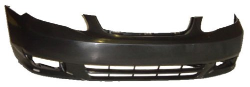 OE Replacement Toyota Corolla Front Bumper Cover (Partslink Number TO1000241)