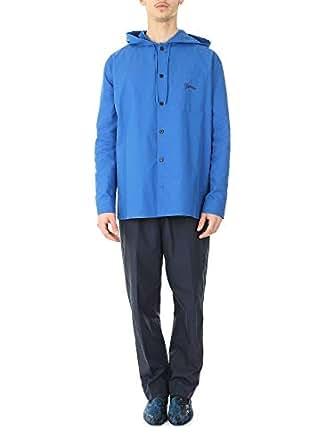 Kenzo Hombre F955CH4221LC74 Azul Algodon Chaqueta: Amazon.es ...