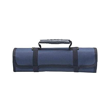 Car Hardware Tool Roll Plier Screwdriver Spanner Case Pouch Bag Reels 22 Pockets