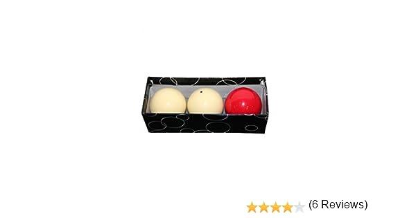 Bolas de carambola para billar francés, 61,5 mm: Amazon.es: Deportes y aire libre