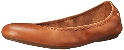 Chaste Puppies Women's Cognac Flats Ballet Hush Mary Jane PEZqWwd