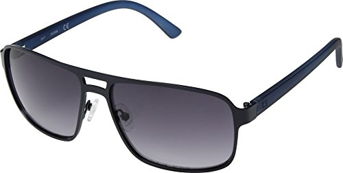 GUESS Mens GF0192 Satin Navy/Smoke Gradient Lenses One Size