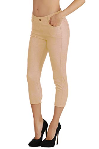 Fit Division Women's Jean Look Cotton Blend