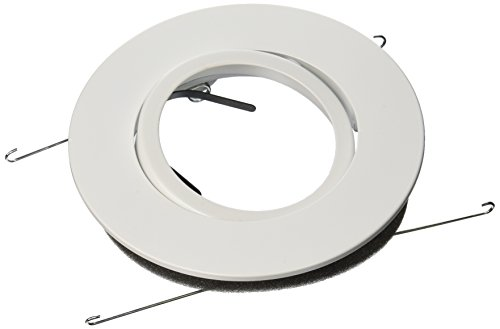 WAC Lighting R-532-WT R500 Series Trim Adjustable Gimbal Ring