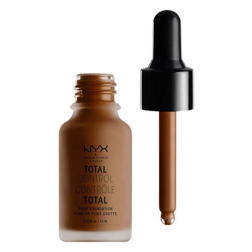 NYX PROFESSIONAL MAKEUP Total Control Drop Foundation, Chestnut