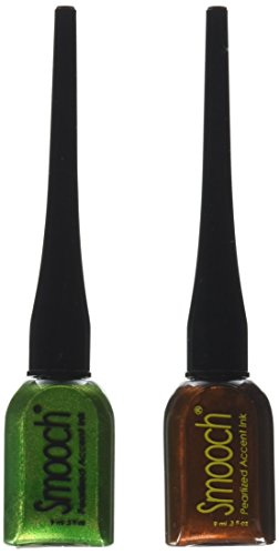 Smooch Pearlized Accent Ink, 2-Pack, Molasses and Green Apple - Pearlized Accent