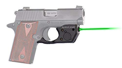 ArmaLaser SIG P238 P938 TR8G Super-Bright Green Laser, used for sale  Delivered anywhere in USA
