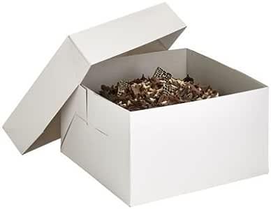 Lakeland – Value Pack Color Blanco Caja de cartón para tarta & Tapa – Para Tartas de 25 cm: Amazon.es: Hogar