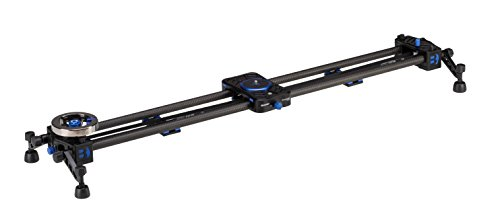 Dual Flywheels - Benro MoveOver12 Dual Carbon Rail Slider w/ Flywheel - 900mm (C12D9)