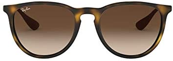 Ray-Ban Women's Rb4171 Erika Round Sunglasses