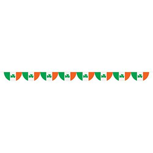 12ft St. Patrick's Day Irish Flag Bunting ()