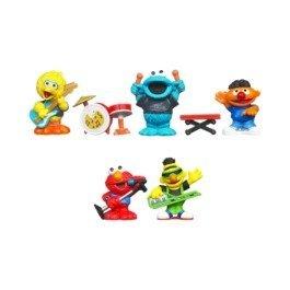 Playskool Exclusive Playset Sesame Street Band Ernie, Bert, Elmo, Big Bird Cookie Monster -