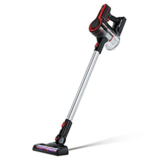 Vacuum Cleaner Cordless Upright Handheld 3 in 1 Rechargeable Battery with LED Light Powerful Stick Vacuum for Carpet and Hard Floor ELEHOT