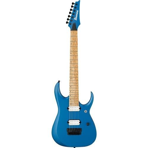 Ibanez Iron Label RGDIR7M - Laser Blue Matte for sale  Delivered anywhere in USA