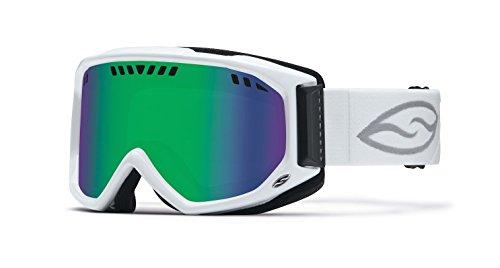 Smith Optics Scope Goggle  White Green Sol X