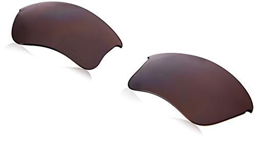 Oakley Men's Flak Jacket Xlj Polarized Iridium Replacement Lenses, Prizm Daily Polarized, 63 mm