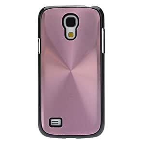 LIMME- Metallic Back with Black Edge Hard Back Cover Case for Samsung Galaxy S4 Mini I9190 , Pink