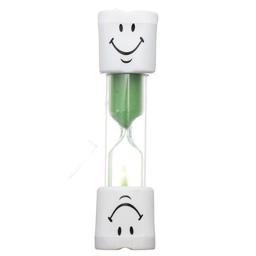 Generic Kids Toothbrush Timer 2 Minute Smiley Sand Timer