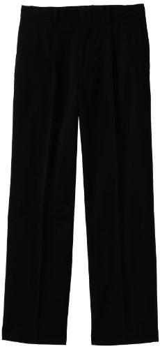 Izod Kids Big Boys' Husky Dress Pant, Black, 10H